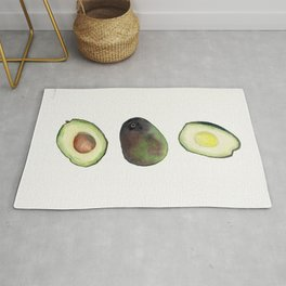 Avocado Watercolor Rug