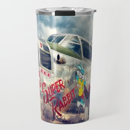 "B-25 Mitchell - The ""Super Rabbit"" - WWII Aircraft Travel Mug"