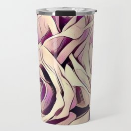 blush roses, lilac living, lilac floral, floral decor Travel Mug
