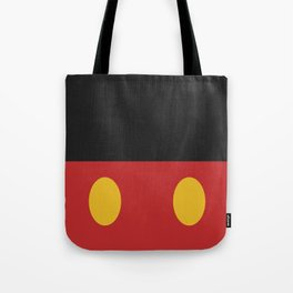 Minimal Mickey Mouse Tote Bag