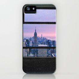 New York City Skyline Views iPhone Case