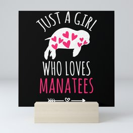 Manatees Gifts | Manatees Lover Gift Ideas Mini Art Print