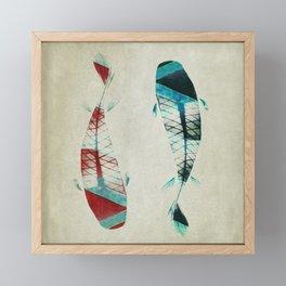 反対派 (opponents) Framed Mini Art Print