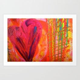 The Manipulation Of Paint #8 Art Print