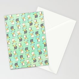 Confused Cockatiel - Pattern Stationery Cards
