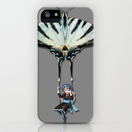 THE SWING GIRL iPhone Case