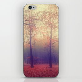 Twin trees... iPhone Skin