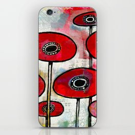 Poppies #4 iPhone Skin