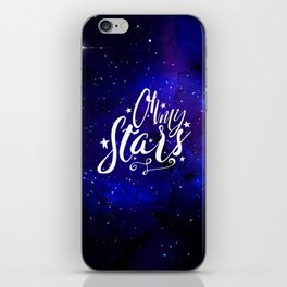 Oh My Stars iPhone Skin