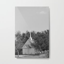 Lost Chapel  Metal Print