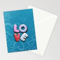 Only love 9 Stationery Cards