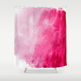 Hopeless, Romantic And Pink #decor #buyart #society6 #art #prints Shower Curtain
