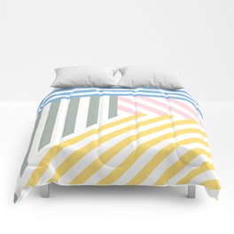 Summer stripes Comforters