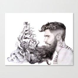 Sailor's Beard Canvas Print