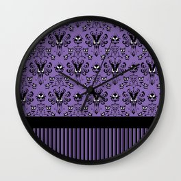 999 Happy Haunts - Servants Wall Clock