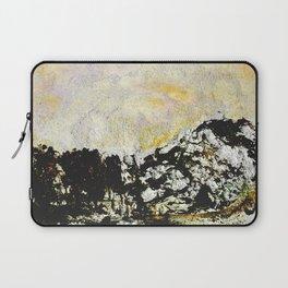 Golden mountains Laptop Sleeve