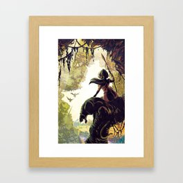 Amazon Queen Framed Art Print