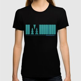 MN Logo - With Pattern T-shirt