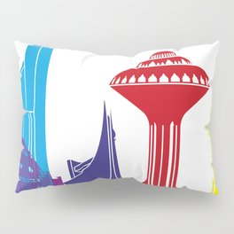 Khobar skyline pop Pillow Sham