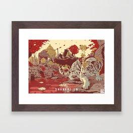 Shangri-La Framed Art Print