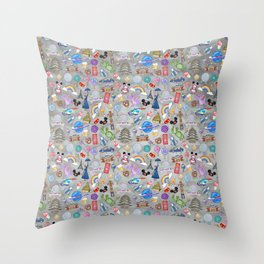 The Epcot Experience Throw Pillow