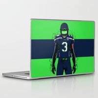 seahawks Laptop & iPad Skins featuring SB L Seattle  by Akyanyme