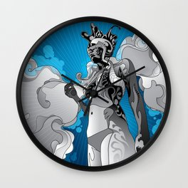 nightflight Wall Clock