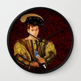 10th Doctor who long long time ago parody Wall Clock