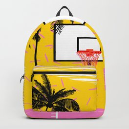 Dope - memphis retro vibes basketball sports athlete 80s throwback vintage style 1980's Backpack