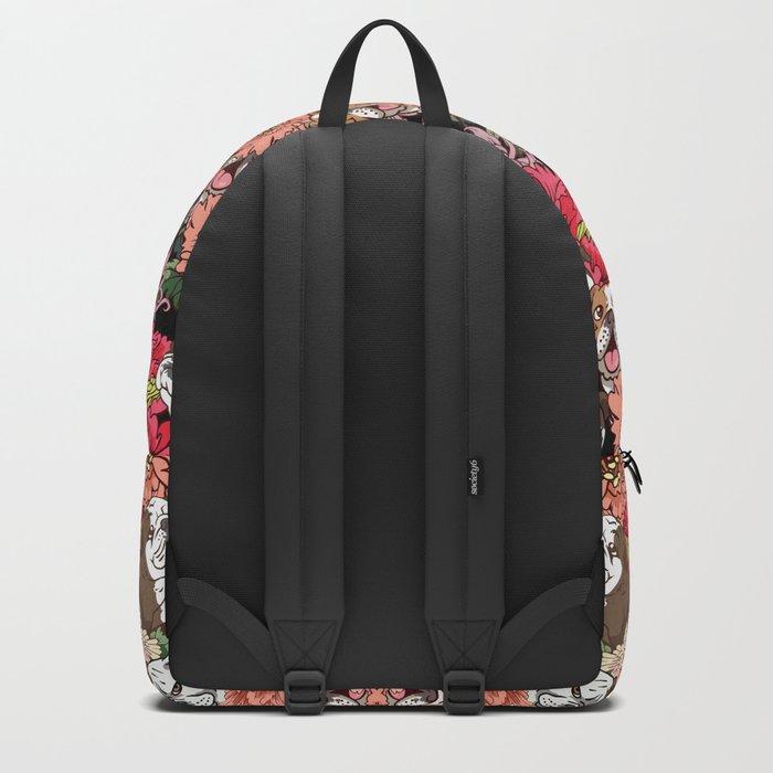 Because English Bulldog Backpack