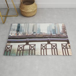 River Walk - Chicago Photography Rug