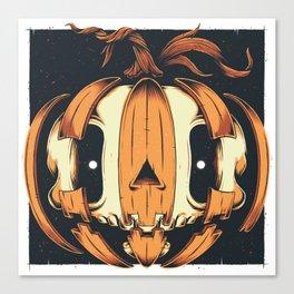 Jack-'o'Skull Canvas Print