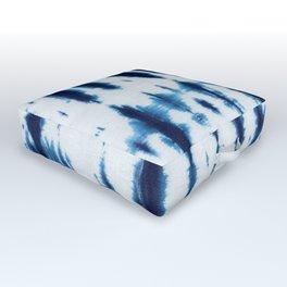Linen Shibori Shirting Outdoor Floor Cushion
