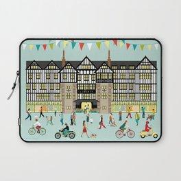 Art Print of Liberty of London Store - Daytime Laptop Sleeve