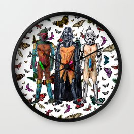 Star Whores Wall Clock