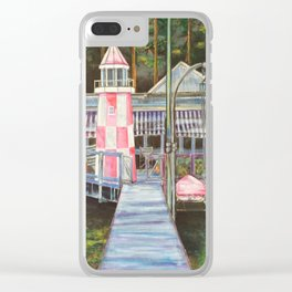 The Lighthouse - by Toni Wright Clear iPhone Case