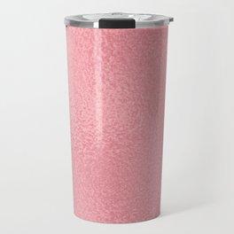 Simply Metallic in Pink Rose Gold Travel Mug
