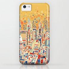 philadelphia city skyline iPhone 5c Slim Case