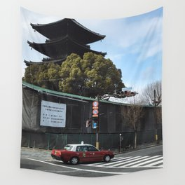 Kyoto Street Wall Tapestry