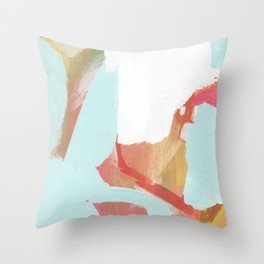 Blue Marsh Throw Pillow