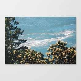 Tides and Pines Canvas Print