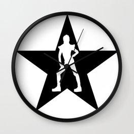 Bowie Ziggy Blackstar Wall Clock