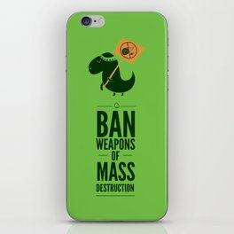Occupy Jurassic Park iPhone Skin