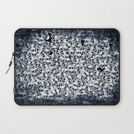 Skull Sketch Pattern Laptop Sleeve