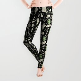 Whole Lotta Horror: BLK ed. Leggings