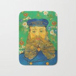 Vincent van Gogh - Portrait of the Postman Joseph Roulin (1888) Bath Mat
