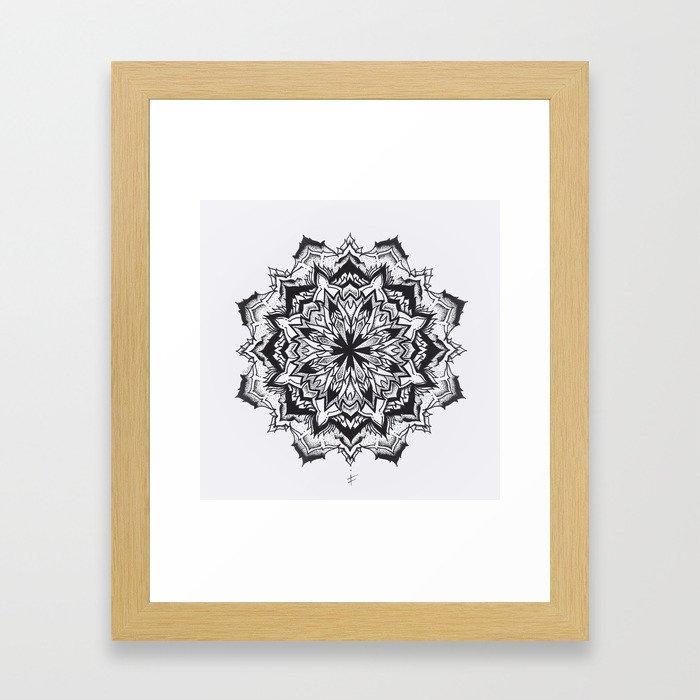 f l u x x Framed Art Print