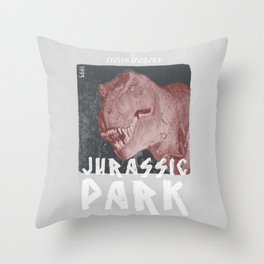Jurassic Park | Steven Spielberg Throw Pillow