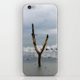 Wishbone Slingshot Into The Ocean iPhone Skin