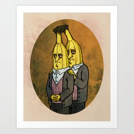 Conjoined Twins Art Print